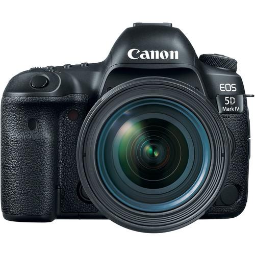 Зеркальные камеры Canon EOS 5D Mark IV kit (24-70mm f/4) L IS USM