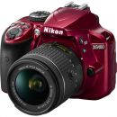 Nikon D3400 kit (18-55mm VR) Red